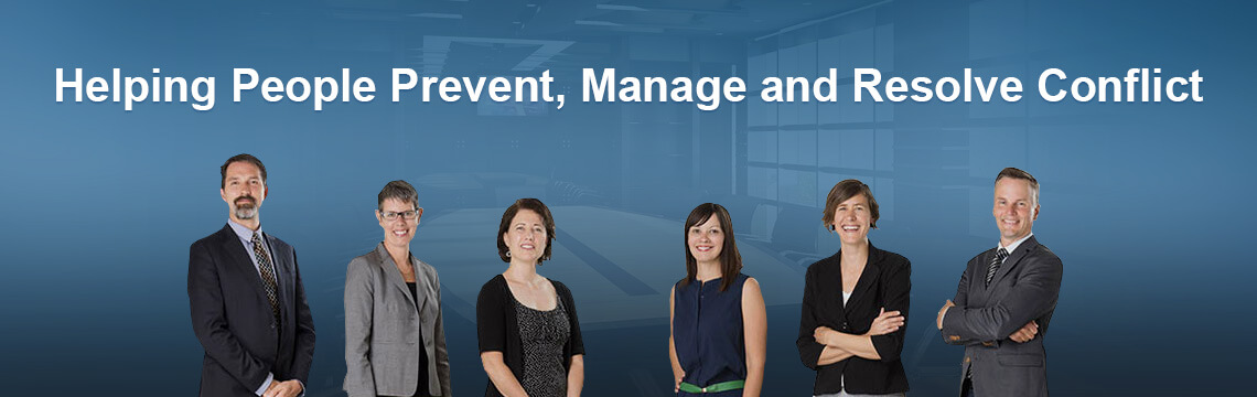Helping People Prevent, Manage and Resolve Conflict
